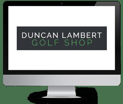Duncan Lambert Golf Shop logo.
