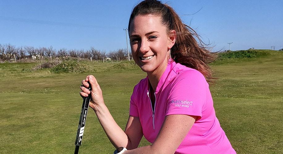 Sarah Jane Boyd, professional golfer and golfing ambassador.