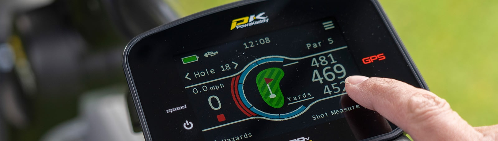 Powakaddy Trolley's available at EuroSelect Golf Stores